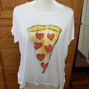 NWOT 'PIZZA' T-Shirt